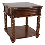 Homelegance 5554-04 End Table, Mahogany