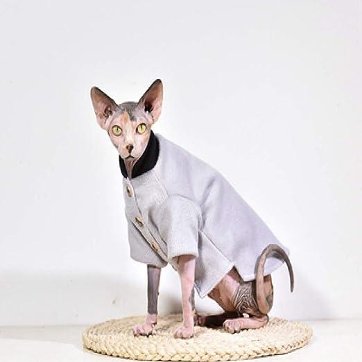 MYYXGS Ropa Sphinx, Ropa para Gatos Sin Pelo, ArtíCulos para Mascotas, Gatitos, para Gatos Sin Pelo Sphinx M: Amazon.es: Productos para mascotas