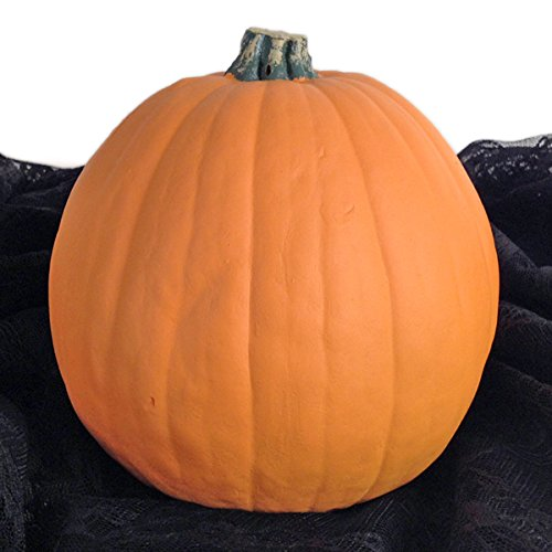 Mr. Light Eerie Funkin - Carvable Artificial Pumpkin - Size 6.5 inches x 6 -