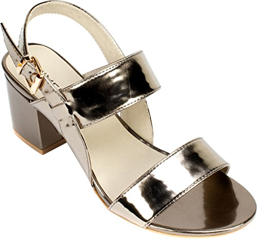 Platinum Shoes Rialto 'CAROLINE' Heel Women's 6IWPUqv