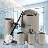 IMAVO Bathroom Accessories Set,6 Pcs Plastic Gift