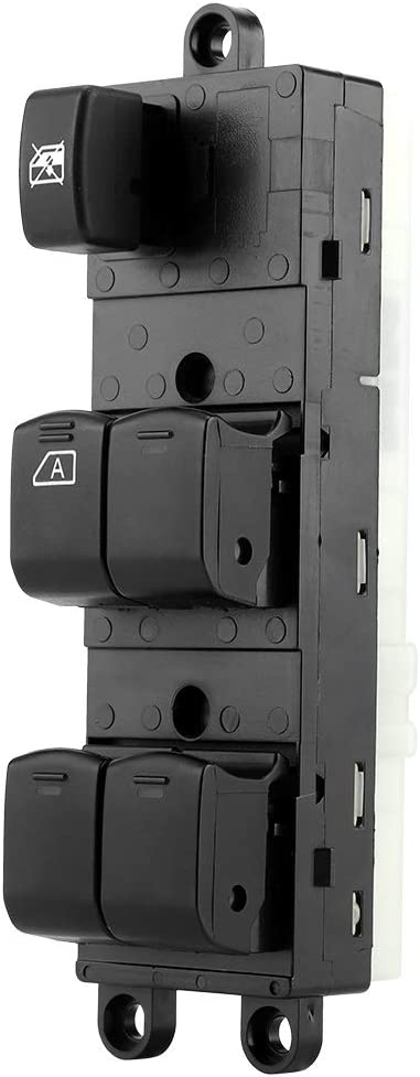Power Master Window Control Switch Vobor Electric Car Window Switch Comaptible with Navara D40b Pathfinder Qashqai 2005-2016 25401-EB30B