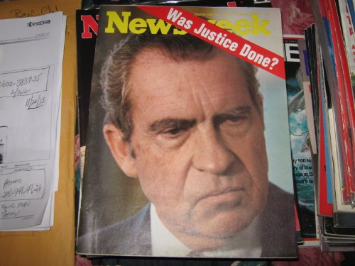 Newsweek Magazine , September 16 , 1974 , Richard Nixon...Was Justice Done ?