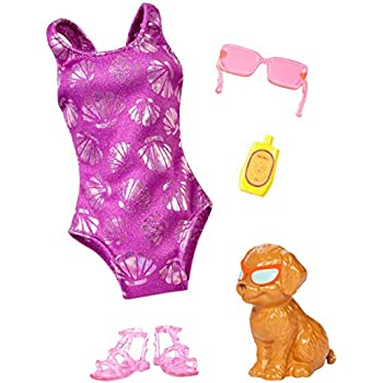 Amazon.com: Barbie Fashion Pack 2-Pack, Boho Swim: Toys