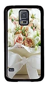 Samsung S5 cases the best Flower Box PC Black Custom Samsung Galaxy S5 Case Cover