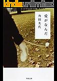 愛がなんだ (角川文庫)
