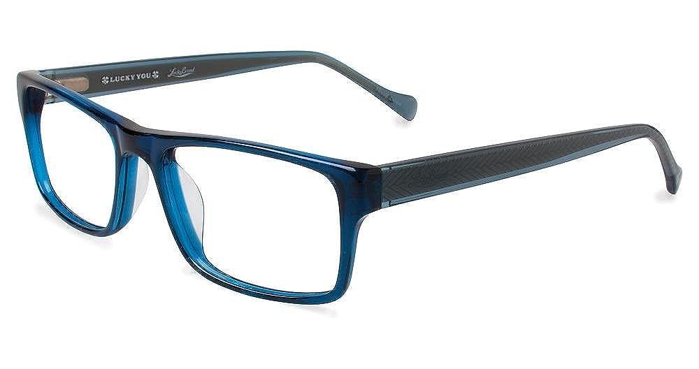 LUCKY BRAND Eyeglasses DIVE Navy 53MM