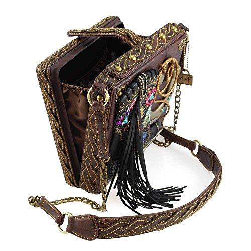 Embellished Frances Dance Line Crossbody Western Cowboy Multi Theme Boot Mary Handbag qtU6Pxwq