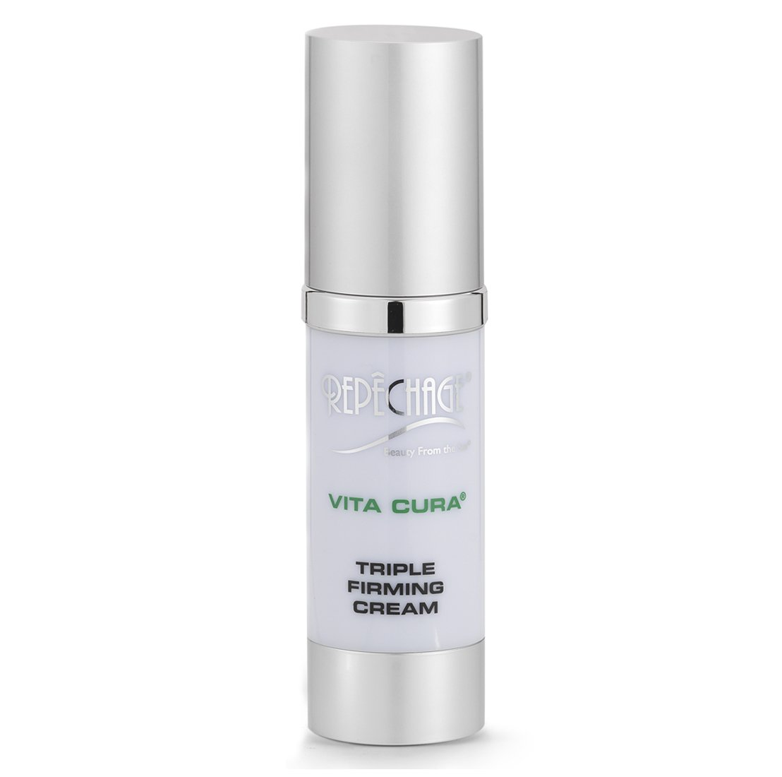 Repechage Vita Cura Triple Firming Cream. Anti Aging Face + Neck Moisturizer Cream. Clinically Proven to Help Improve the Appearance of Skin Firmness, Lines & Wrinkles 1fl oz/30ml