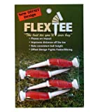 Flextee Offset Design Flexible Golf Tee 3'' 4 ct