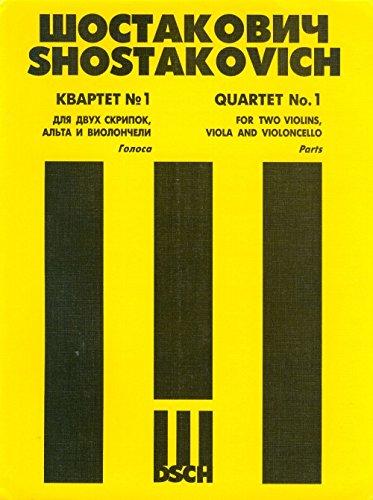 String Quartet No. 1. Op. 49. Book Set of Parts.