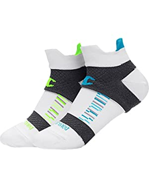 Champion Women Double- Shield Compression Running Socks 3-Pack