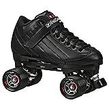 Roller Derby Elite Stomp-5 Roller Skates Black Size 4