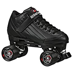 The Roller Derby Elite Stomp Five Derby Quad Skates is where we bring together fashion and function to the skating rink. The Stomp five is an economical and lightweight skate that is made to perform as well as turn heads. These skates feature...