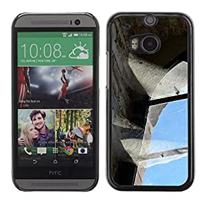 Hot Style Cell Phone PC Hard Case Cover // M00170022 Old Brickyard Brick Factory Industry // HTC One M8