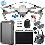 digital 2 platinum tablet case - DJI Mavic Pro Platinum Quadcopter Drone with 4K Camera Fly More Combo Pack Triple Battery w/ Case 2TB HD Kit