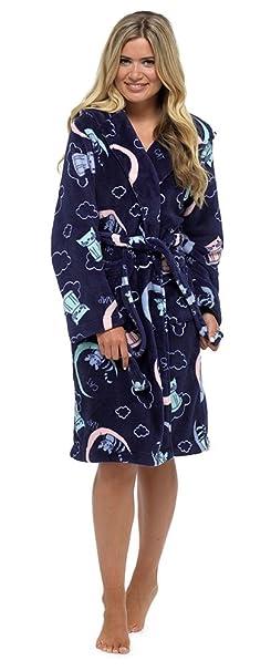 Tom Franks - Bata - para Mujer Azul Navy Cat M: Amazon.es: Ropa y accesorios