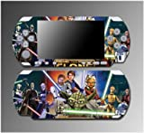 Star Wars Jedi Yoda Luke R2-D2 Obi Wan Video Game Vinyl Decal Sticker Cover Skin Protector #12 Sony PSP Slim 3000 3001 3002 3003 3004 Playstation Portable, Best Gadgets