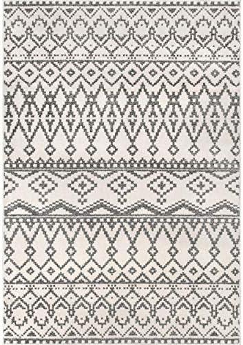 nuLOOM Wavy Moroccan Geometric Area Rug, 8 10 x 12 , Beige