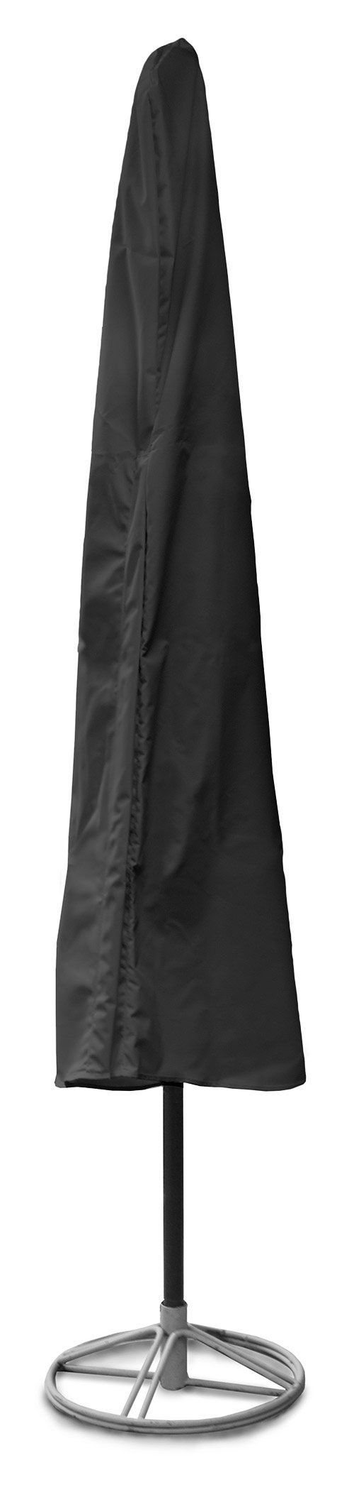KoverRoos Weathermax 74150 7-Feet to 9-Feet Umbrella Cover, 76-Inch Height by 48-Inch Circumference, Black by KOVERROOS
