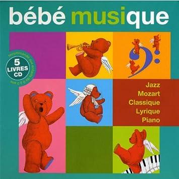 Bebe Musique Coffret Bebe Musique Livres Amazon Com Music