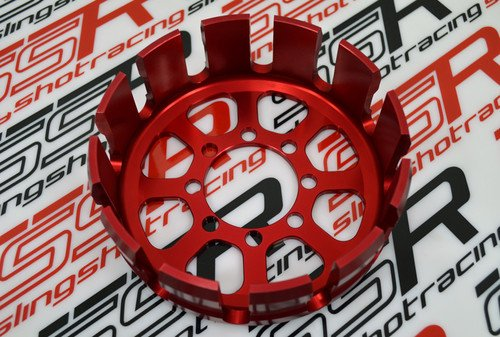 - Red Ducati 748 749 916 996 998 999 1098 1198 Billet Aluminum Dry Clutch Basket