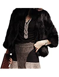 Womens Fur And Faux Fur Jackets Amazon Com
