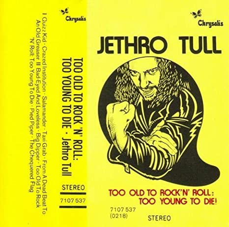 Jethro Tull Too Old To Rock T Shirt Folk Prog Rock Music Steeleye Span Yes IH069