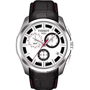 Tissot Men's T035.439.16.031.01 White Dial Couturier Watch: Tissot