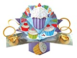 THE ORIGINAL POP UPS - 048 - CUPCAKES BIRTHDAY CARD [Office Product]