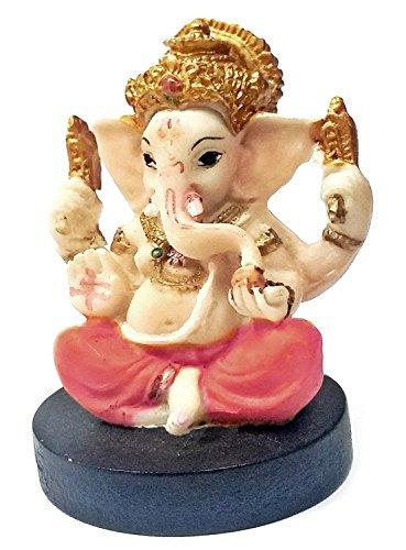 (Bellaa 21756 Ganesha Hindu Statue Good Luck God 3 inch )