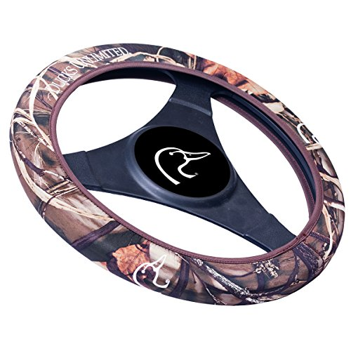 Ducks Unlimited Neoprene Steering Wheel Cover (Realtree MAX-4 Camouflage, Sold Individually) (Ducks Unlimited Camouflage Camo)