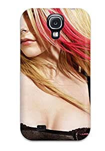 Galaxy S4 Case Cover - Slim Fit Tpu Protector Shock Absorbent Case (avril Lavigne Music People Music)