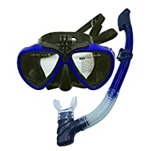 Scuba Diving Gear,Snorkeling Mask Scuba Diving Mask- Adult Full Dry top Snorkel Set, Scuba Diving Goggles Tempered Glass Watertight and Anti-fog Lens,With Gopro Mount Scuba Diving Equipment .