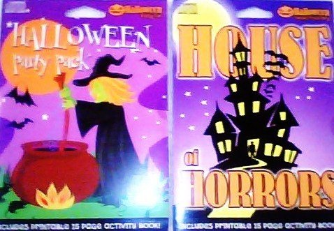Halloween Party Music Compilation Cd's with Printable Activity Books [Cd /Cd-rom] Set : 2 Pcs;