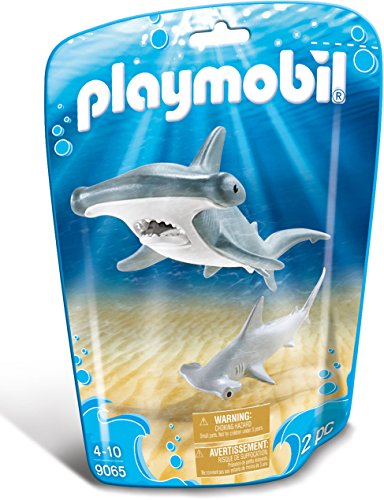 - PLAYMOBIL® Hammerhead Shark with Baby Building Set