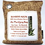 200g Naturally Activate100% Bamboo Charcoal/Chemical Free/Car Air Freshener/deodorizes/absorbs Moisture/Reduces Mildew/by Absorbing Moisture/pet Orders/Even Reduces Smoke oderl.