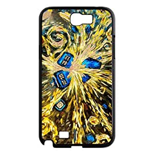 Samsung Protective Cover Case for Galaxy Note 2 Doctor Who Van Gogh's Exploding Tardis