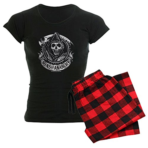 CafePress Sons of Anarchy Womens Novelty Cotton Pajama Set, Comfortable PJ Sleepwear