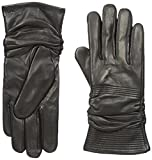 RUDSAK Women's Finstall Leather Gloves, Black, Medium