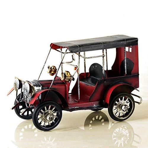 Ochoos ヴィンテージ メタル カークラフト メタル アンティーク キャラモデル デスクトップ 装飾 子供 おもちゃ 誕生日 ギフト ホームデコレーション レッド OCH-0C25250EB33410287810406F8F376C0A B07NSC7PSH レッド