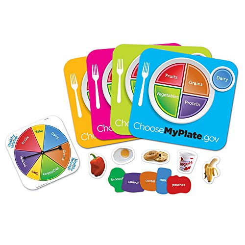 Learning Resources Healthy Helpings A Myplate -