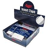 Insert Tape 1'' White Super Textured Box/12