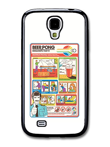 Funny Cute Beer Pong Flight Card Parody Infographic coque pour Samsung Galaxy S4