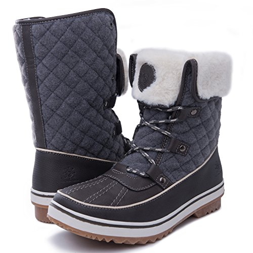Snow Globalwin Women's Winter 1706 1706grey Boots qgazHw
