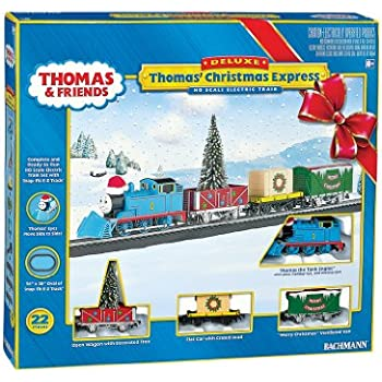 Amazon.com: Bachmann Industries Thomas' Christmas Delivery Ready ...