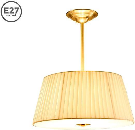 Lustre Lumières du salon Moderne E27 Lampe suspension Cuivre
