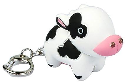 Amazon.com: Vaca llavero con sonido: Toys & Games