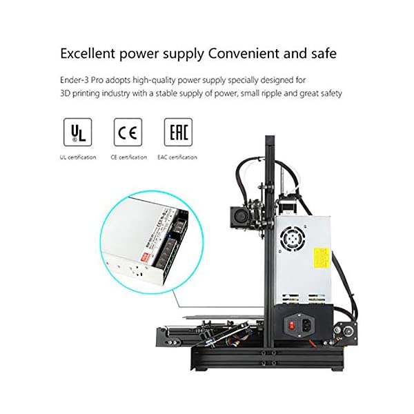 Creality ender 3 pro diy printer with removable magnetic bed 3d printer kit with power resume function 220x220x250mm