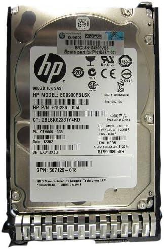 HP 900GB 6G SAS 10K 900 SAS 16 MB Cache 2.5-Inch Internal Bare or OEM Drives 619291-B21 Certified Refurbished